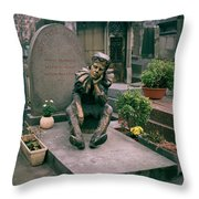 The Great Nijinsky Throw Pillow