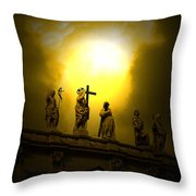 Vatican City Statues Vatican City Rome Italy Throw Pillow