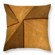 Vaulted Abstract II Throw Pillow