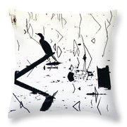 Vee  Throw Pillow