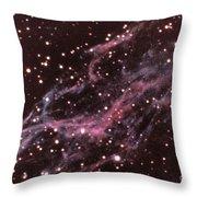 Veil Nebula In Cygnus Throw Pillow