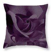 Velvet Rose Throw Pillow by Aidan Moran