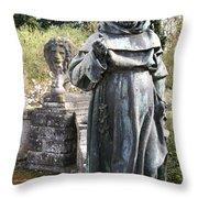 Venetian Garden 2 Throw Pillow