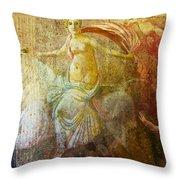 Venetian Maiden  Throw Pillow