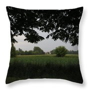 Veneto's Countryside In May Throw Pillow