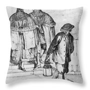 Venice: 18th Century Throw Pillow