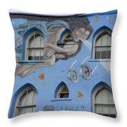 Venice Beach Wall Art 8 Throw Pillow