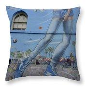 Venice Beach Wall Art 9 Throw Pillow