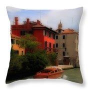 Venice Canals 7 Throw Pillow