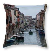 Venice Commuter Throw Pillow