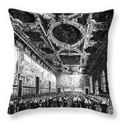 Venice: Doges Palace Throw Pillow