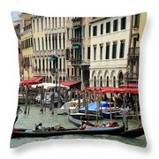 Venice Grand Canal 2 Throw Pillow