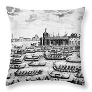 Venice: Grand Canal Throw Pillow