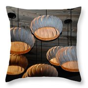 Vented Lights Throw Pillow