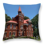 Ventress Hall Ole Miss Throw Pillow
