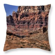 Vermilion Cliffs Arizona Throw Pillow