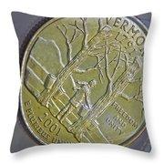 Vermont 2001 Throw Pillow