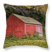 Vermont Farm Throw Pillow