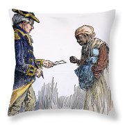 Vermont: Manumission, 1777 Throw Pillow