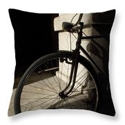 Verona Bike Throw Pillow