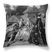 Versailles: Court Life Throw Pillow