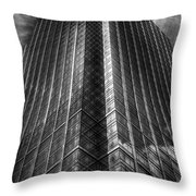 Vertical Horizon Throw Pillow by Yhun Suarez