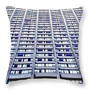Vertical Urbanization Throw Pillow