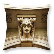 Very Roman Throw Pillow