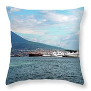 Vesuvio Throw Pillow