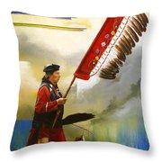 Veteran Dancer Throw Pillow