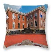 Veterans Memorial Hillsboro Throw Pillow