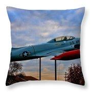 Vfw F-80 Shooting Star Throw Pillow