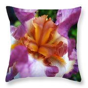 Vibrant Beauty Throw Pillow