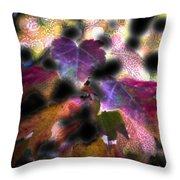 Vibrant Fall Throw Pillow