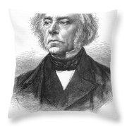 Victor Cousin (1792-1867) Throw Pillow
