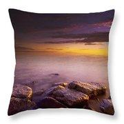Victoria Island, Nunavut, Canada Throw Pillow