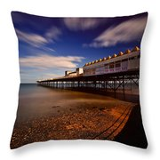 Victoria Pier Throw Pillow