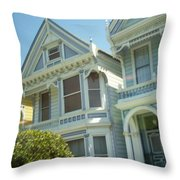 Victorians Throw Pillow