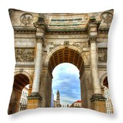 Victory Gate Throw Pillow