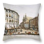 Vienna, 1779 Throw Pillow
