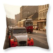 Vienna In The Afternoon Throw Pillow