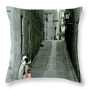 Vieux Montreal  Throw Pillow