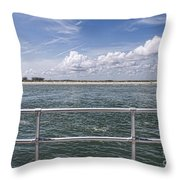 View From Across The Bay Throw Pillow