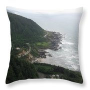 View From Cape Perpetua 2 Throw Pillow