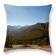 View From Frankenstein Cliff Throw Pillow