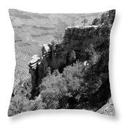 View From Grand Canyon Village Throw Pillow