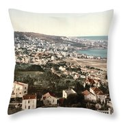 View From Mustapha - Algiers Algeria Throw Pillow
