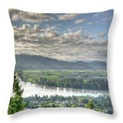 View From The Abby Throw Pillow