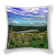 View From The Hilltop 2 Throw Pillow