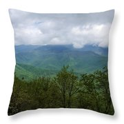 View From The Parkway Throw Pillow